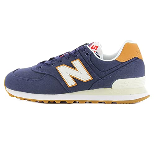 Scarpa 574 YLC New Balance colore blu per uomo New Balance ML 574YLC