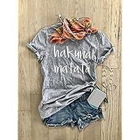 Hakuna Matata. Don't Worry. Happy Shirt. Disney T Shirt. Cool T Shirt. Gift Shirt. Women's T Shirt. Unisex Fit. Crew-Neck Shirt.