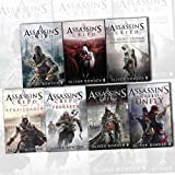 Assassins Creed Collection By Oliver Bowden 7 Books Set (Renaissance, The Secret Crusade, Revelations, Forsaken, Brotherhood, Black Flag, Unity)