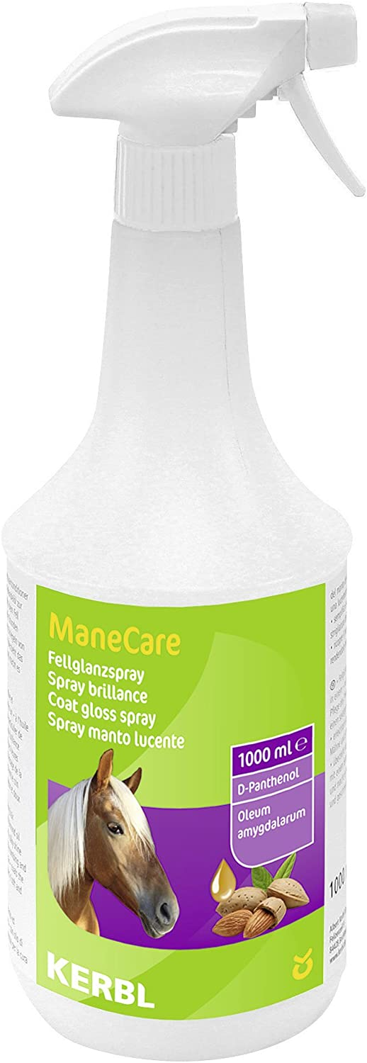 Kerbl ManeCare, Spray abrillantador de Crin y de Pelo 1000 ml