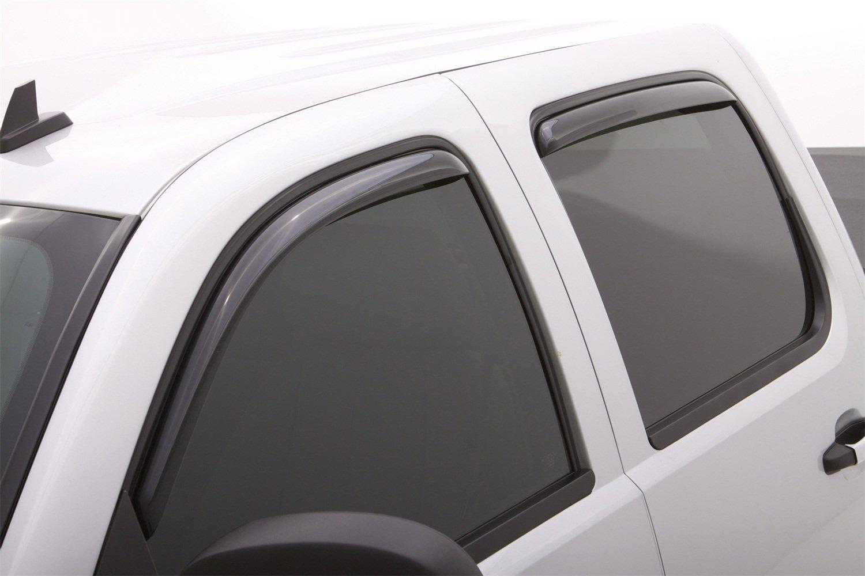 4-Piece Set for 2002-2010 Ford Explorer Lund 184819 Ventvisor Elite Side Window Defectors