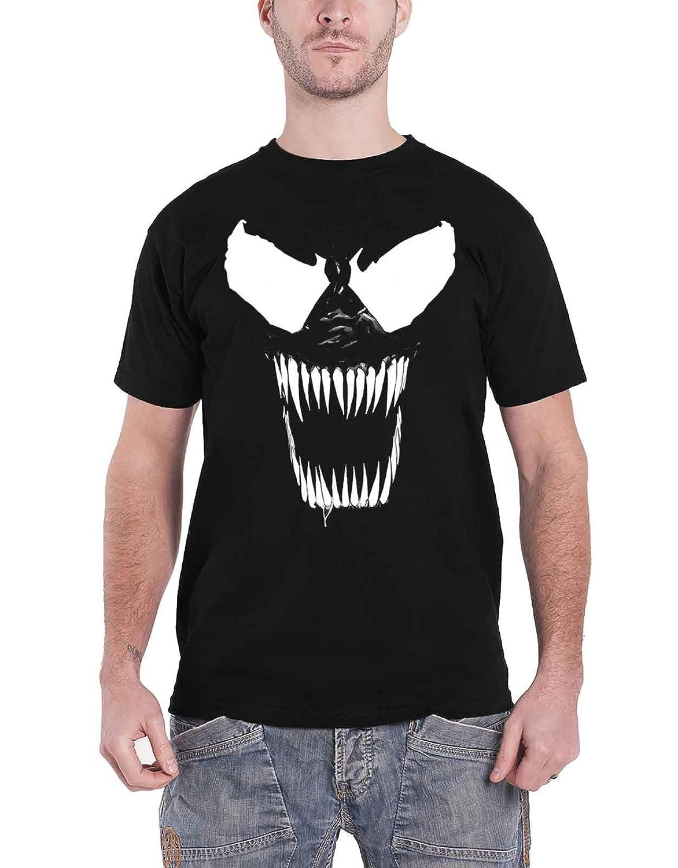 1a6ac9d138 Venom T Shirt Bare Teeth New Official Marvel Mens Black: Amazon.ca: Clothing  & Accessories