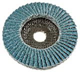 Forney 71993 Flap Disc, Type 29 Blue Zirconia with