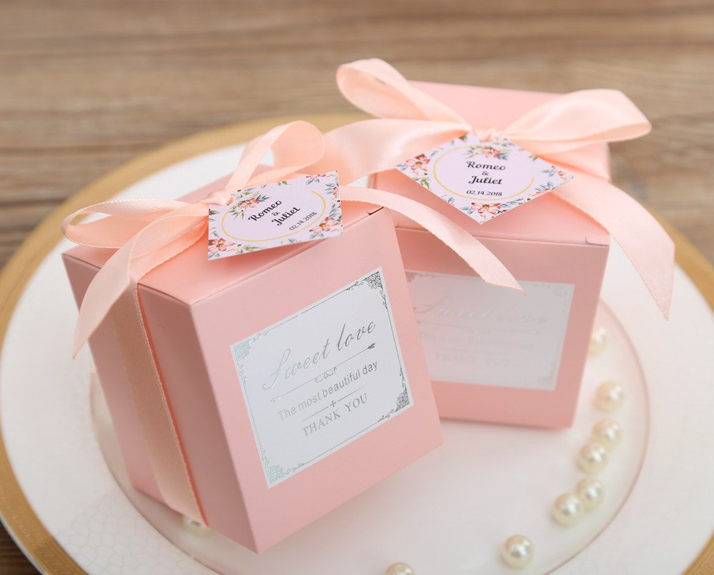 Amazon.com: Doris Home 50 pcs Birthday Wedding Party Favor, Wedding ...