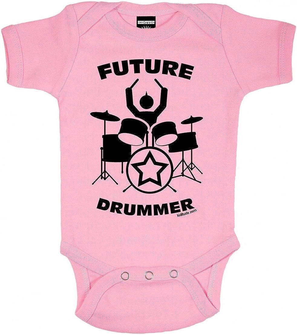 Future Drummer Baby Onesie Shirt Shower Gift Drums Infant Newborn Clothes Gerber