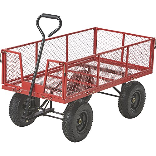 Kotulas Jumbo Steel Garden Wagon — 1400-Lb. Capacity For Sale