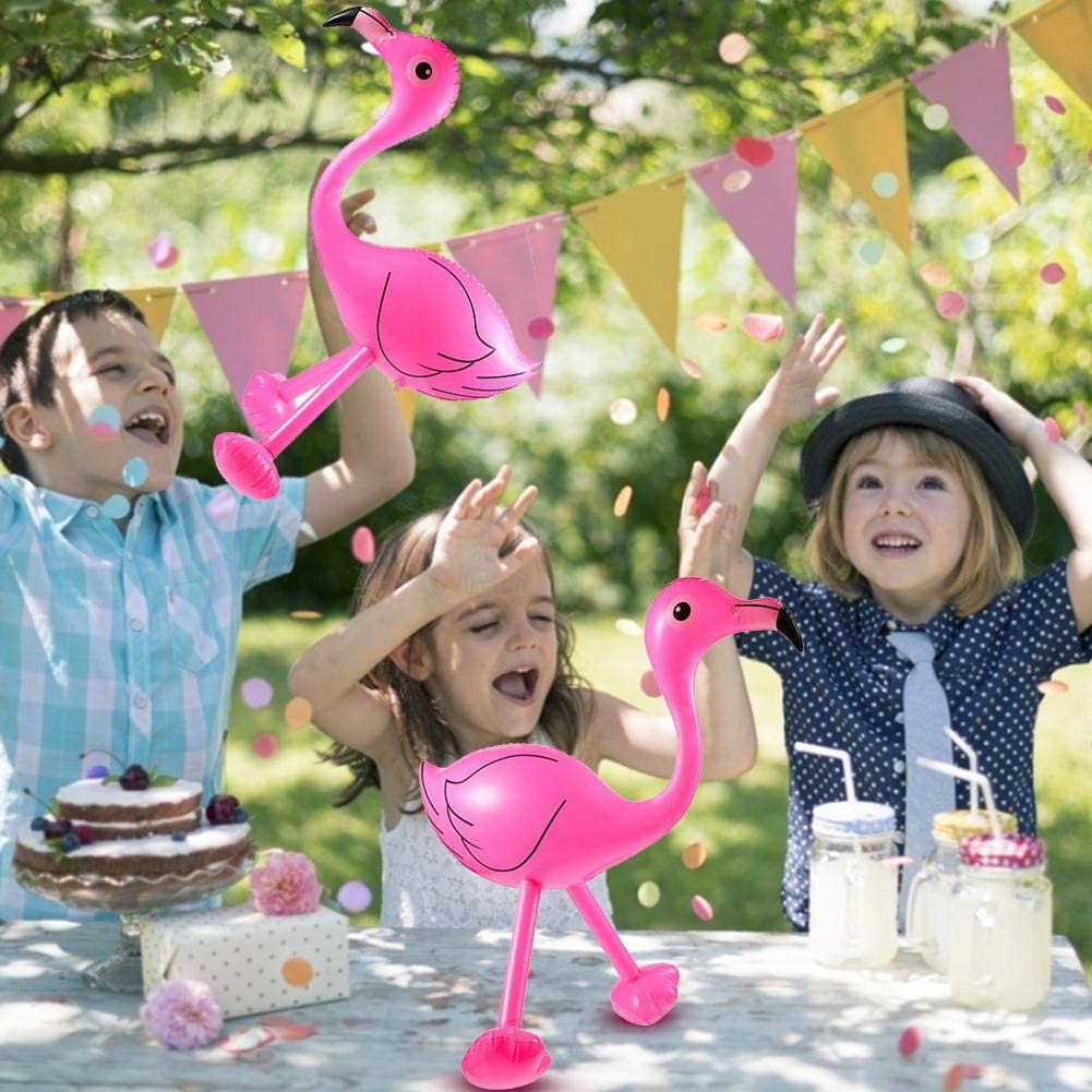 Por inflable rosa flamingo hinchable Flamingo muñeca piscina Float ...