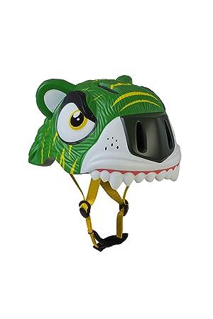 ANC Toys - Casco Infantil Green Tiger/Tigre Verde, 49/55