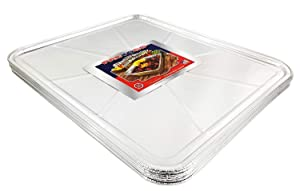 "Pactogo Disposable Aluminum Foil Oven Liner 18.5 "" x 15.5"" (Set of 10)"