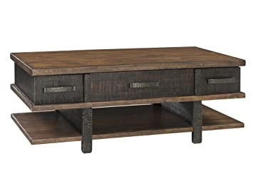 Amazon Com Signature Design By Ashley T892 9 Stanah Coffee Table