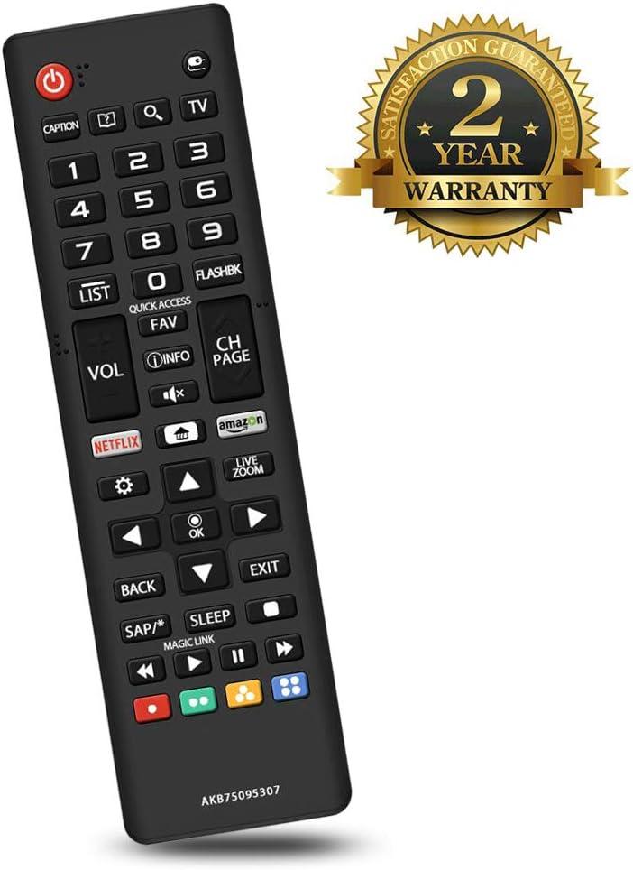 Control remoto para LG LED LCD Smart AKB750953