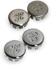 Danco 13025 4-Count Handle Button Kit for Glacier Bay Faucets, Chrome