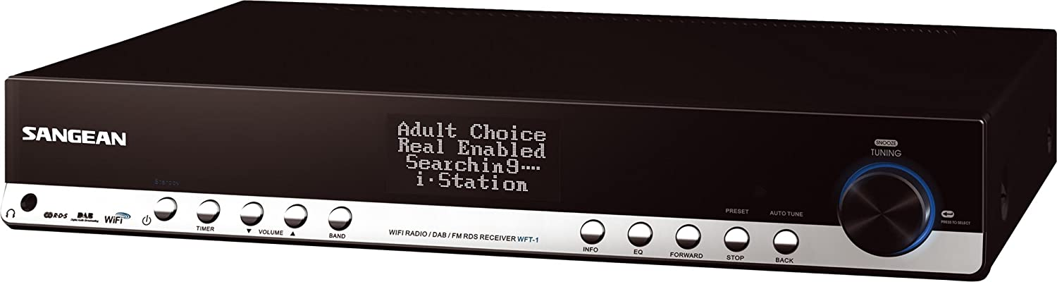 Amazon.com: Sangean WFT-1 Internet Radio Component Tuner: Home ...