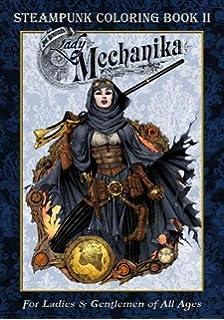 Lady Mechanika Steampunk Coloring Book Vol 2