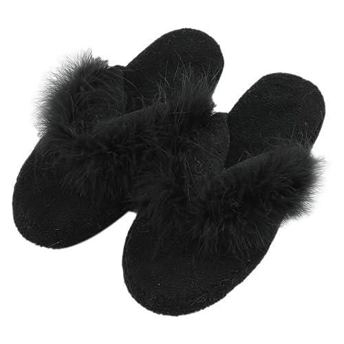 70d89a8e5940f8 Home Slipper Fuzzy Slippers Flip-Flops