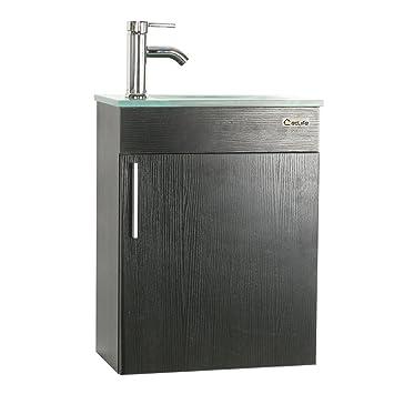 Amazoncom U Eway Wall Mounted Bathroom Vanity And Sink Combo 184