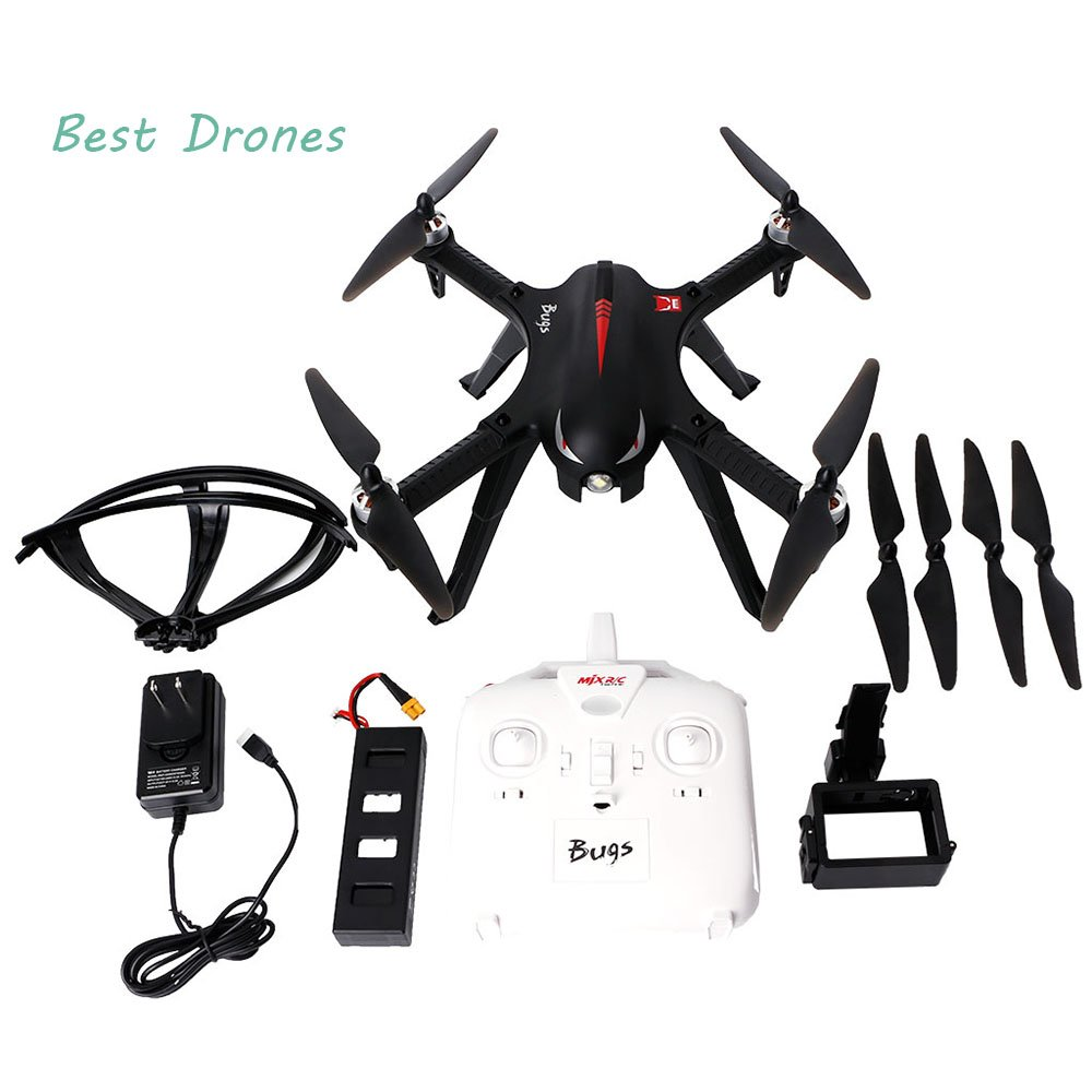 BetterM RC Quadcopter Drone, RTF 2.4GHz 4CH 6 Axis Gyro Brushless Motor Drone