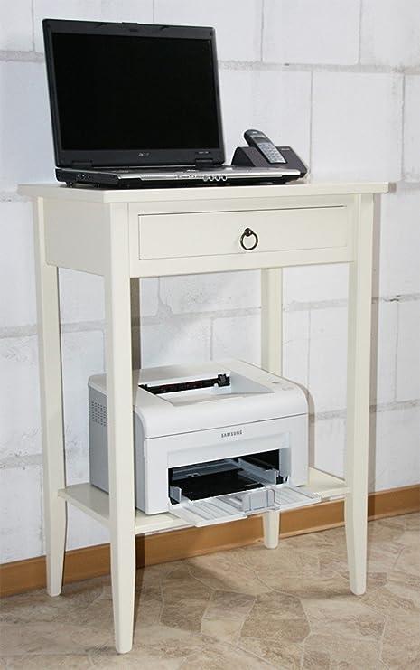 Mesa auxiliar de madera Consola mesa - Mesa para impresora ...