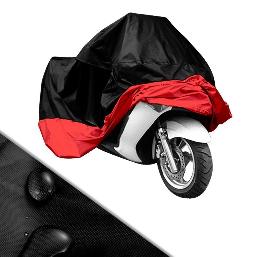 Lyfree Indoor//Outdoor Motorcycle Cover Reflective Waterproof UV Protection Heat Silver-XXL Moisture Guard Vent Sportbike