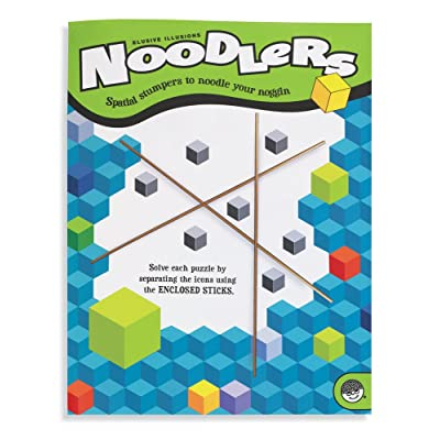 MindWare Noodlers: Elusive Illusions: Mindware: Toys & Games [5Bkhe0706273]