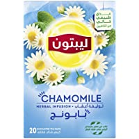 Lipton Herbal Infusion Tea Camomile, 20 Teabags