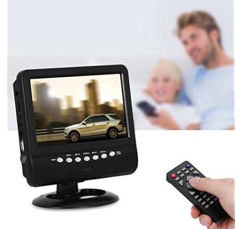 zerone televisor portátil Digital HD Mini potable TV Digital HD móvil DVB-T2, DVB-T2, TV Digital TFT ATSC isdb pantalla LCD soporte pantalla USB TF Card: Amazon.es: Electrónica