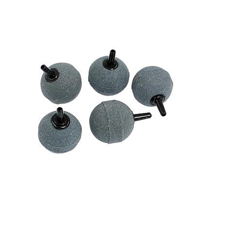 NiceButy - 5 piedras de aire con forma de bola, para pecera, liberación de