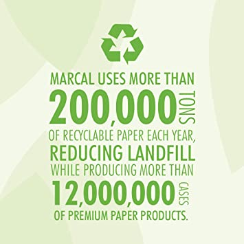 Amazon.com: Marcal Pro Hardwound Paper Towel Roll - 350 Length x 7.87