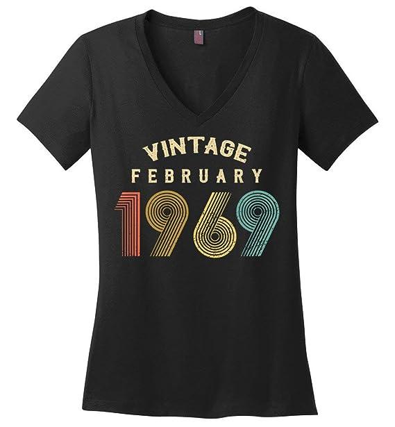 Amazon.com: 50 cumpleaños – Vintage febrero 1969 mujer ...
