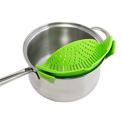 uctop tienda Samsung Galaxy S3 MINI cocina alimentos colador para espaguetis Pasta terreno carne grasa colador