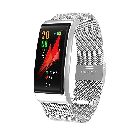 Amazon.com: Sport Smart Watch Fitness Smart Fitness Metal ...