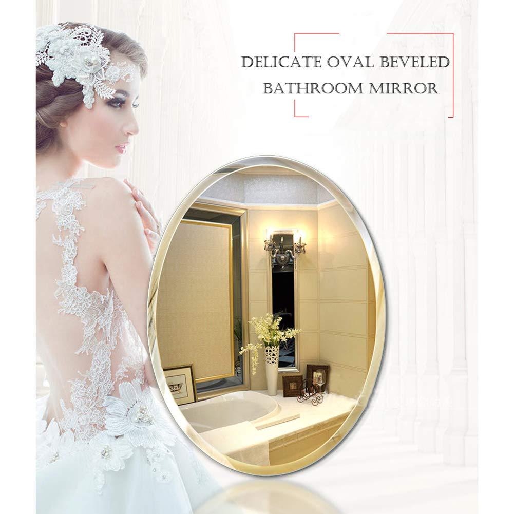 Marco Biselado Bathroom Mirror Sin Baño De Pared Espejo f6vbY7gy