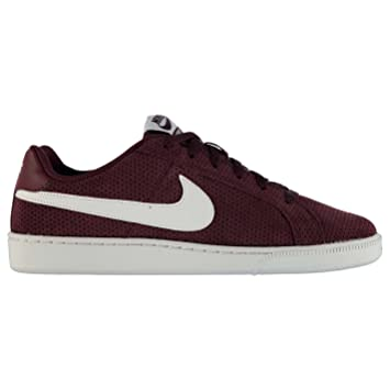 Nike Court Royale Suede Trainers para Hombre Granate/Blanco Casual Zapatillas Zapatos, Marrón y Blanco: Amazon.es: Zapatos y complementos