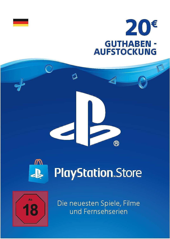 playstation guthaben karte PSN Card Aufstockung | 20 EUR | deutsches Konto | PSN Download