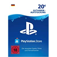 PSN Card-Aufstockung | 20 EUR | PS4, PS3, PS Vita Playstation Network Download Code - deutsches Konto