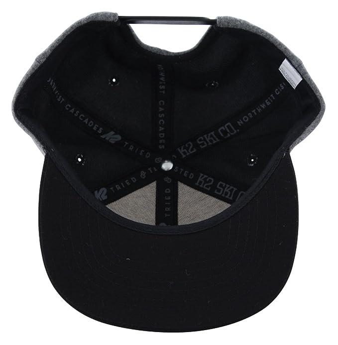 0e2370841dd K2 VARSITY Snapback Cap 2016 grey  Amazon.fr  Vêtements et accessoires