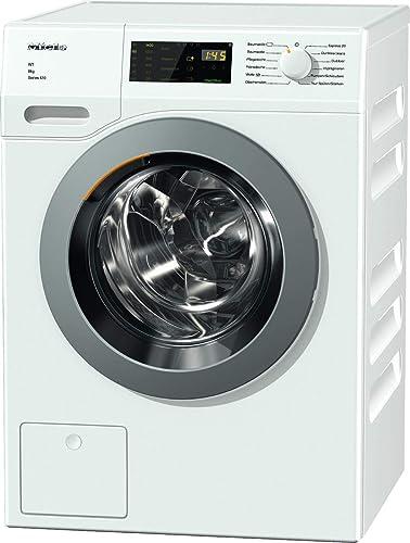 Miele WDD 035 WCS Series 120 Frontlader Waschmaschine / 1400 UpM / mit 8 kg  Schontrommel / Startvorwahl und Restzeitanzeige / Einfache Bedienung per ...