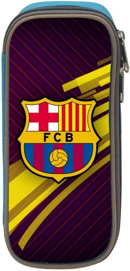 FC Barcelona - Estuche escolar para estudiantes y niños, azul, ONE_SIZE: Amazon.es: Amazon.es
