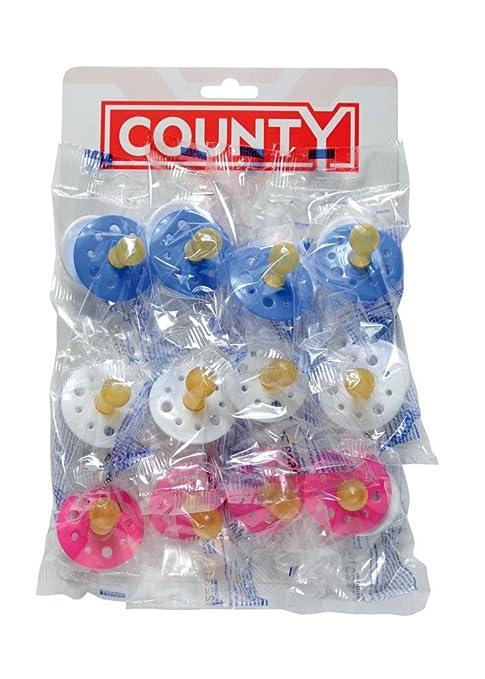 Amazon.com: Pack de 12 Bebé chupetes maniquíes: Baby