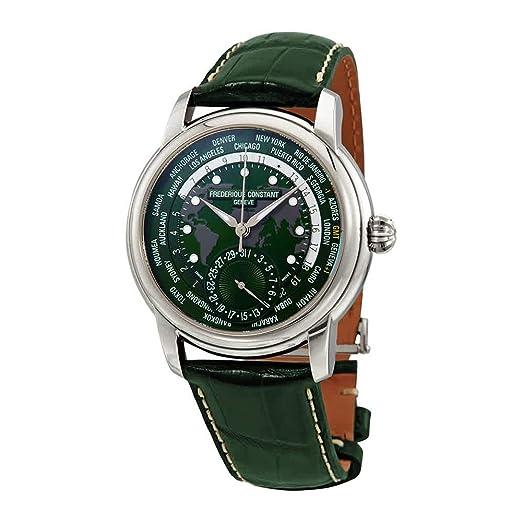 Frederique Constant Geneve Classic Worldtimer FC-718GRWM4H6 Reloj Automático para Hombres: Amazon.es: Relojes