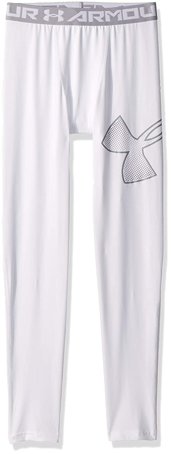 Under Armour Boys HeatGear Logo Leggings