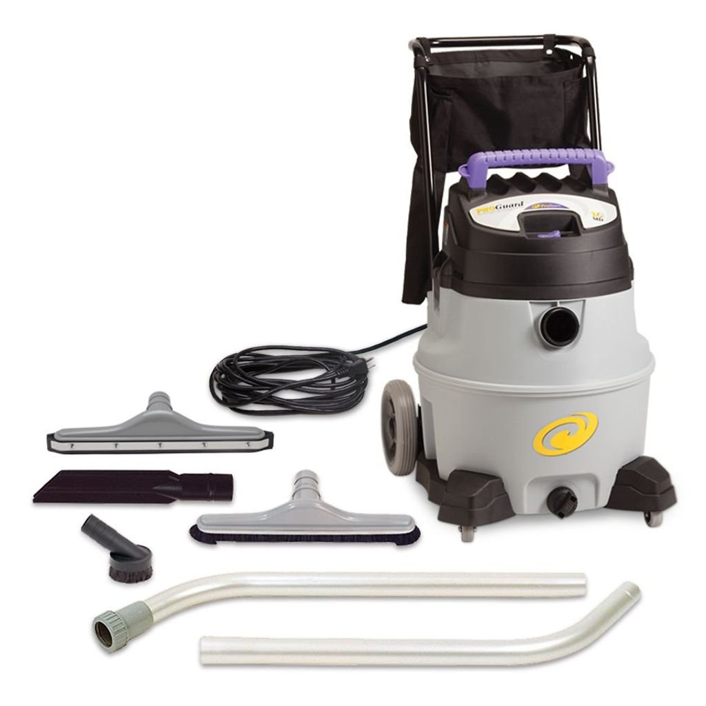 ProTeam Wet Dry Vacuums, ProGuard 16 MD, 16-Gallon Commercial Wet Dry Vacuum Cleaner with Tool Kit