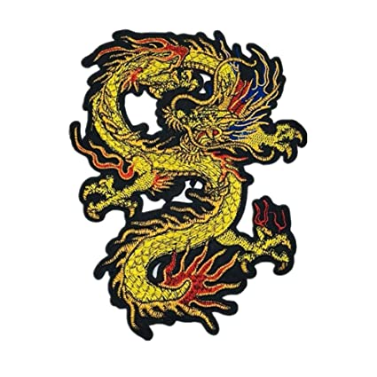 Ruikey Parche Dragon Chino Parches De Animales Parches Para ...