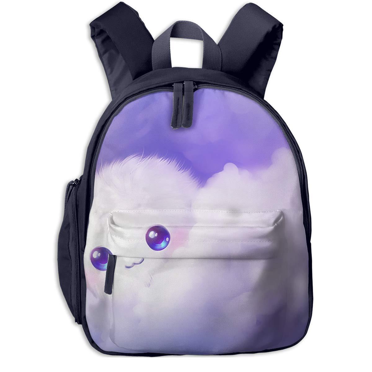 School Backpack for Girls Boys, Kids Kids Kids Cute lila Cute Cound Cartoon Backpacks Book Bag B07MGXMR8C Daypacks Guter Markt ad3718