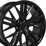 OE Wheels LLC 20 inch Rim Fits Camaro ZL1 Wheel CV25 20x9.5 Satin Wheel Hollander 5773
