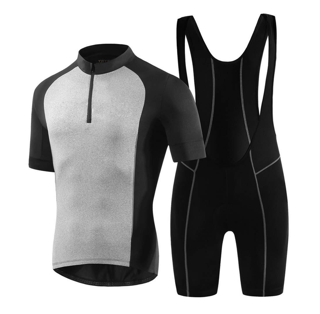 NDY Kurzärmelige Overalls Polyesterfaser Radsportanzug Anzug Fahrradreiten Männlichen Feuchtigkeitstransport Im Freien Kleidung