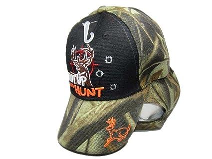 RED DEER AMERICAN FLAG OUTDOOR HUNTING HUNT BASEBALL CAP HAT