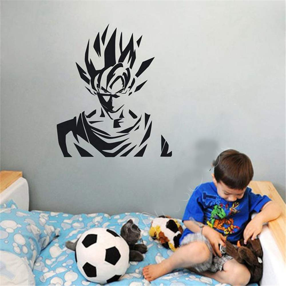 pegatina de pared frases Dragon Ball Tatuajes de pared Dragon Ball ...