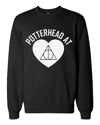 Potterhead At Heart Design Sudadera clásica Unisex Sweatshirt: Amazon.es: Ropa y accesorios