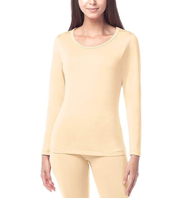 Modestil spottbillig das billigste LAPAPA Damen Thermoshirt Innenfleece - Leicht Warm - Langarm  Thermounterwäsche Funktionsunterwäsche Skiunterwäsche für Winter L15 MEHRWEG